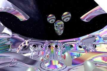Bex Ilsley - Your Cities Will Shine Forever (detail of VR app)